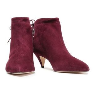 kate spade Shoes - NWT Kate Spade Sophie Suede boots deep cherry